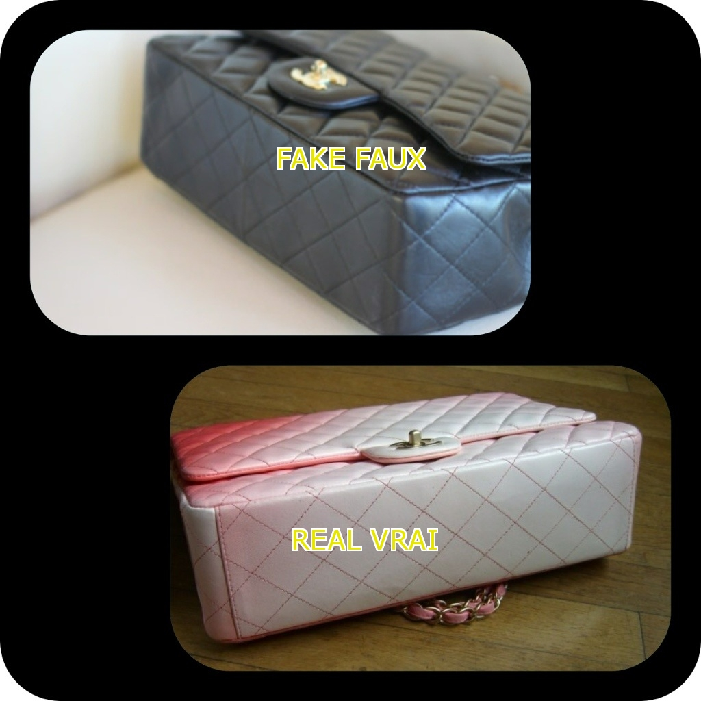 059d9a12a3c5 Comment reconnaitre un faux sac chanel 2.55 lors d un achat en ligne ...